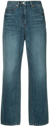 System Wide Leg Straight Jeans