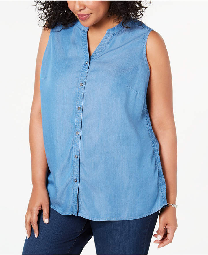 7848cb35 Style&Co. Plus Size Tops - ShopStyle Canada