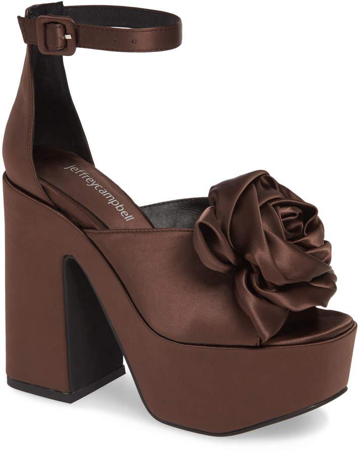 207e5d0406c8b Jeffrey Campbell Heel Strap Women s Sandals - ShopStyle