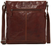 Jack Georges Voyager Genuine Buffalo Leather Crossbody