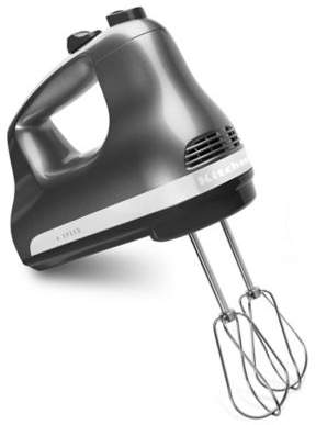 KitchenAid 6-Speed Hand Mixer in Contour Silver