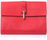 Balenciaga The Tube Pochette leather clutch