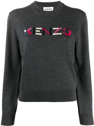 Kenzo Embroidered Logo Jumper