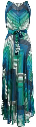 Twin-Set geometric print dress