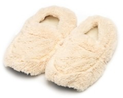 Warmies Plush Slippers Snowy