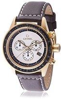 Tribeca Gevril Men's A2111 Analog Display Quartz Brown Watch