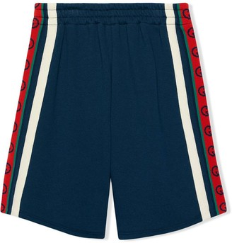 Gucci Childrens Cotton Shorts