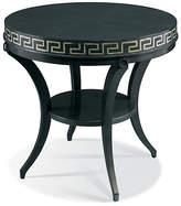 Hickory White Classic Modern Greek Key Table - Ebony