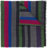 Paul Smith striped pattern scarf