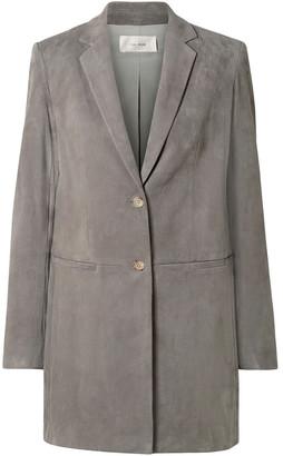 The Row Batilda Oversized Suede Jacket