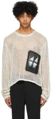 Off-White Worstok Rope Sweater