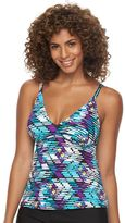Women's Upstream Sport Abstract Tankini Top