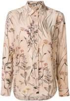 Bottega Veneta floral shirt