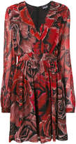 Just Cavalli rose print dress