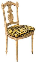 Versace Giltwood Side Chair
