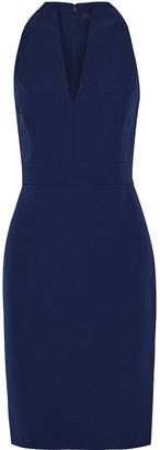 Badgley Mischka Stretch-crepe Dress