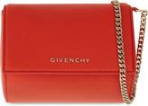 Givenchy Pandora miniaudiere leather box clutch