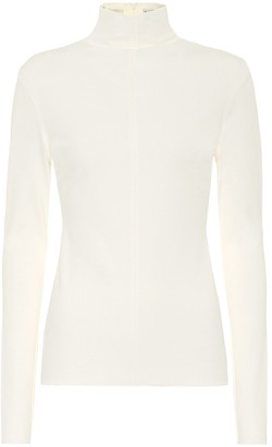 Bottega Veneta CrApe-jersey turtleneck sweater