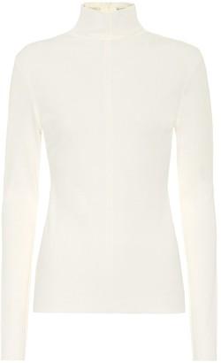 Bottega Veneta Crepe-jersey turtleneck sweater