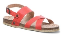 BearPaw Women's Kala Vegan Flat Sandals Women's Shoes