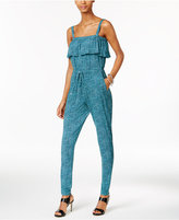 MICHAEL Michael Kors Stingray-Print Jumpsuit