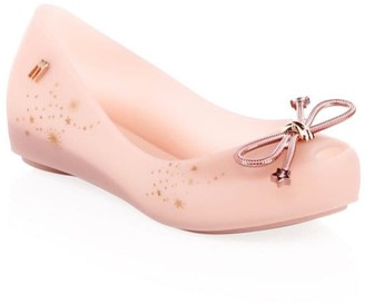 Mini Melissa Girl's Ultragirl Embellished Flats