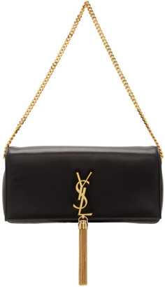 Saint Laurent Black Medium Kate 99 Tassel Bag