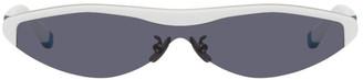 C2H4 White and Blue Renoner Edition Nova Sunglasses