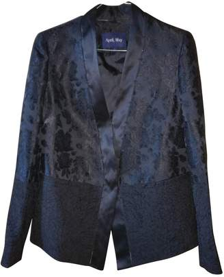 April May Black Jacket for Women