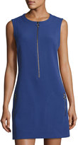 Rachel Roy Hilary Knit Zip-Front Dress