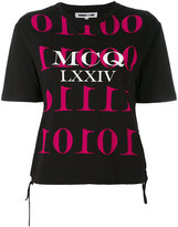 McQ by Alexander McQueen logo printed T-shirt - women - Cotton - XS