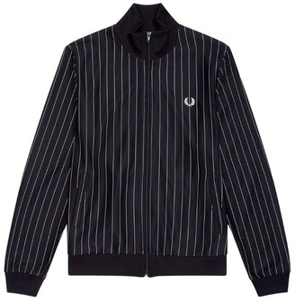 Fred Perry Pinstripe Bomber Jacket