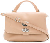 Zanellato flip lock shoulder bag