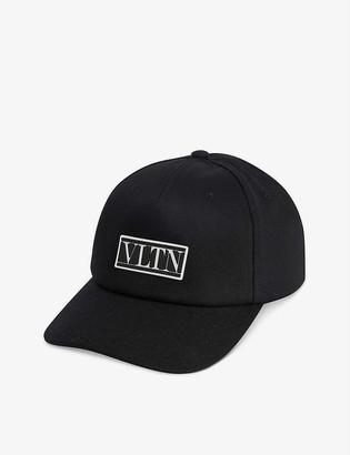 Valentino VLTN logo-embellished cotton baseball cap