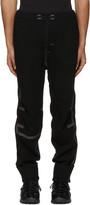 Y-3 Sport Black Wool Lounge Pants