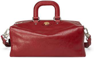 Gucci Men's Runway Soft Leather Weekender Bag w/ Backpack Straps