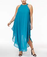 Love Squared Plus Size Halter Maxi Dress