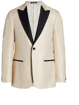 Emporio Armani Contrast Lapel Dinner Jacket
