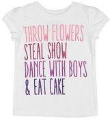 LICENSE Toddler Girls' Flower Girls' T-Shirt