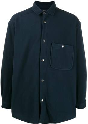 YMC pocket-detail oversized shirt