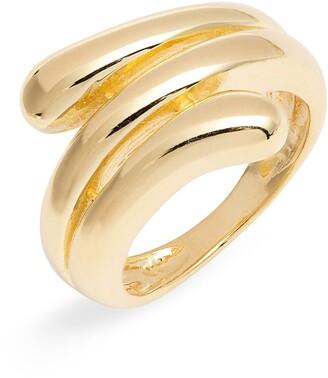 Argentovivo Wrap Ring
