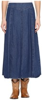 Roper 0717 7.5 Indigo Stretch Denim Skirt