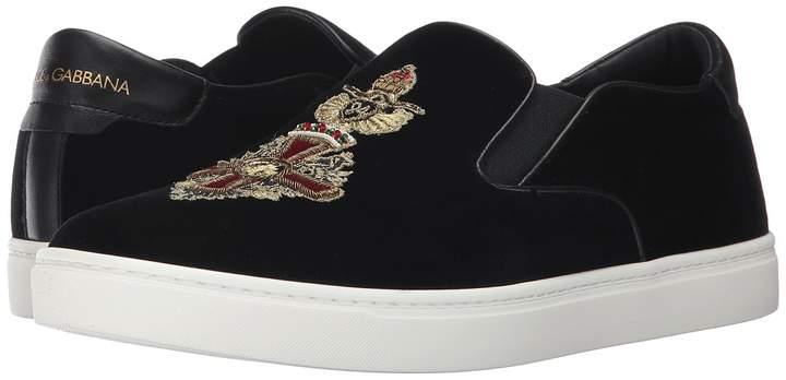 Dolce & Gabbana Heraldic Sicily Sneaker Men's Shoes