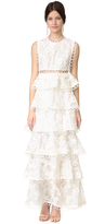 Zimmermann Winsome Tier Vine Dress