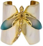 Alexis Bittar Gold Dragonfly Cuff