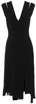 Altuzarra Asymmetric stretch-jersey dress