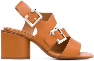 Clergerie Ellie 75mm buckled sandals