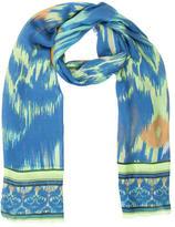 Matthew Williamson Woven Tie-Dye Scarf