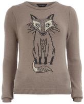 Mink sketchy fox jumper