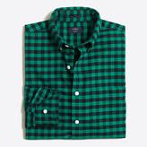 J.Crew Factory Plaid oxford shirt